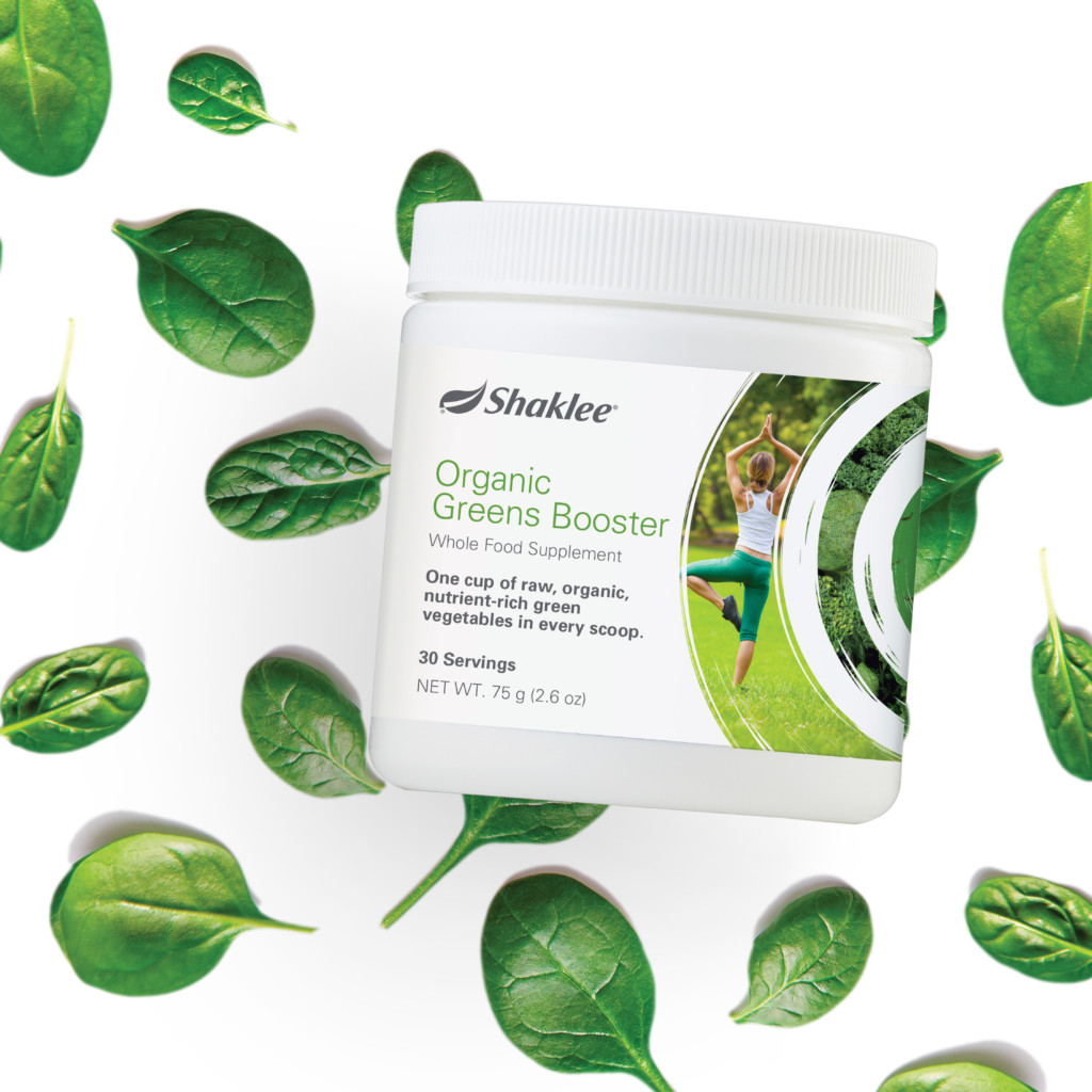 FREE Organic Greens Booster with $150 order.