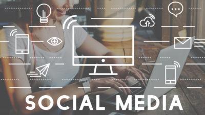 Social Media Devices Communication Connection Concept